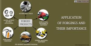 Application of forgings and their importance